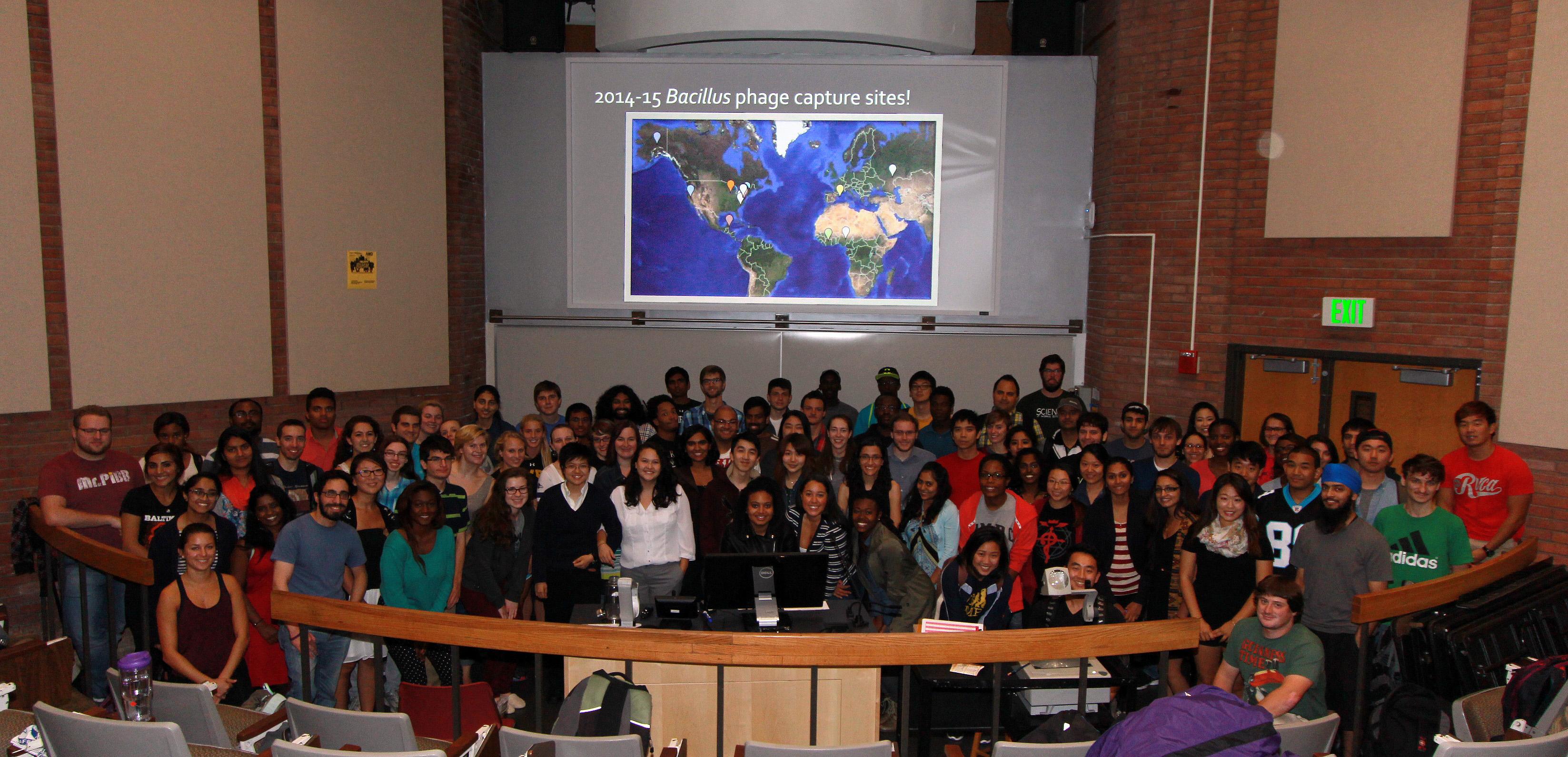 UMBC Fall 2014 Class